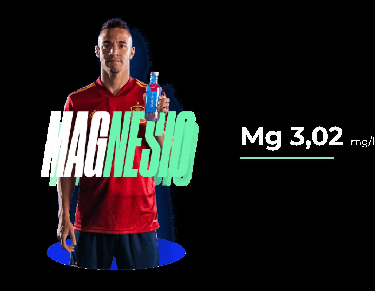 Magnesio Mg 3,04 mg/l mg/l