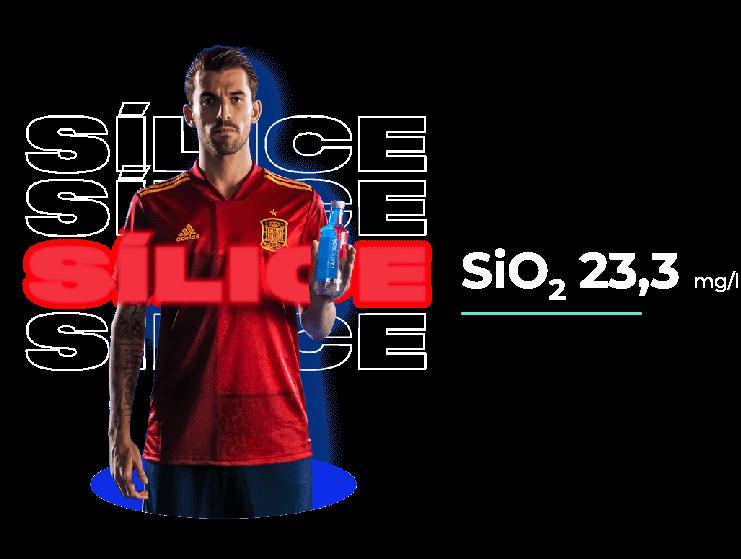 Silice SiO2  23,3 mg/l