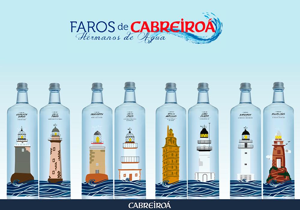 Faros de Cabreiroá, Hermanos de Agua
